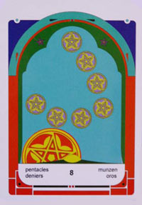 Mystereum Pentacles 8