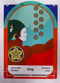 Mystereum Pentacles King