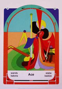 Mystereum Wands Ace